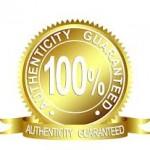 guaranteed authentic